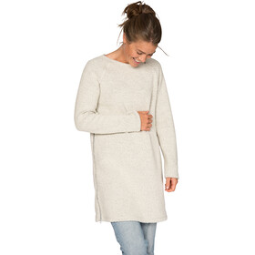 Varg W's Fårö Long Wool Dress Off White